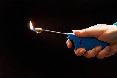 Zapalarka gazowa do zniczy i kominka, piezoelektryczna GH11