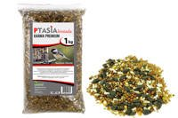 Bogata zimowa karma dla ptaków dzikich Ptasia Biesiada™ Premium 1kg