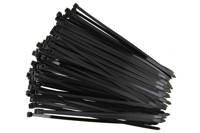 Opaski kablowe  czarne 2,5x100mm (100 szt.)